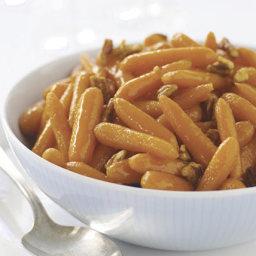 Maple-Glazed Baby Carrots