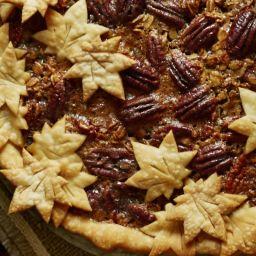 Maple Granola Pecan Pie