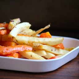 Maple Roasted Carrots and Parsnips