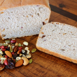 Maple Trail Mix Bread