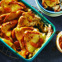 Maple Bread and Butter Pudding