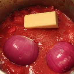 Marcella Hazan's Immortal Tomato Sauce Recipe