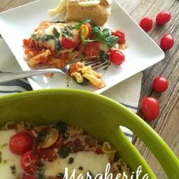 Margherita Pasta Bake Recipe!