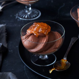 Maria Speck's Greek Yogurt Chocolate Mousse