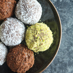 Marie Biscuit Chocolate Truffles