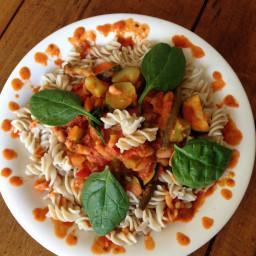 Marinara Primavera with Cannellini Beans