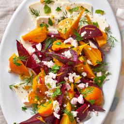 Marinated Feta-Beet Salad