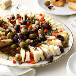 Marinated Olive and Cheese Ring Recipe