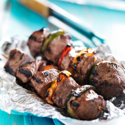 Marinated Steak Kabobs