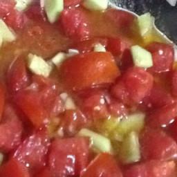 Marinated Tomato, Cucumber and Onion Salad