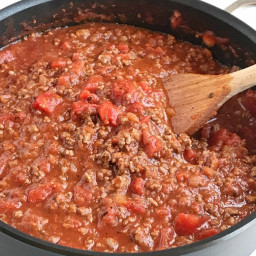 Mark's Firehouse Tomato Meat Sauce