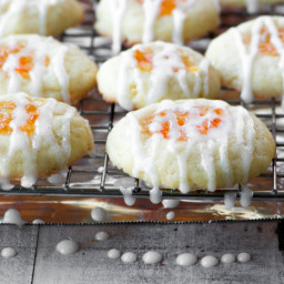 Marmalade Thumbprint Cookies