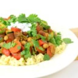 Marokkaanse Vegetarische Couscous