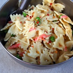 Marscapone Cheese and Smoked Salmon Pasta