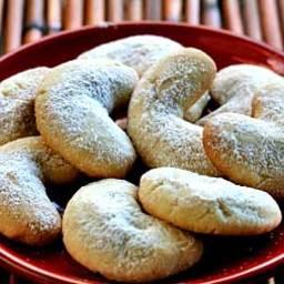 Martha Stewarts Almond Crescent Cookies