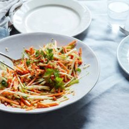 Martha Stewarts Sweet Potato, Celery, and Apple Salad