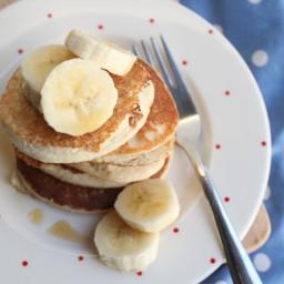 'Marzipan' Pancakes