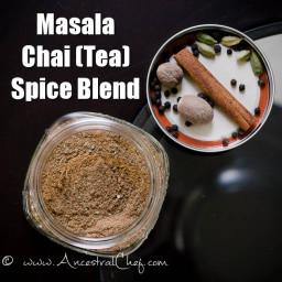 Masala Chai Tea Spice Mix/Blend