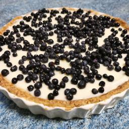 Mascarpone & white chocolate berries tart