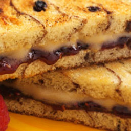 Mascarpone and Dulce De Leche Grilled Cheese Sandwiches