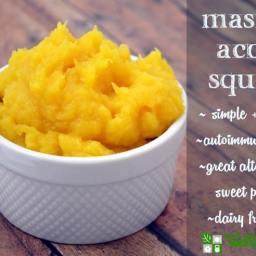 Mashed Acorn Squash