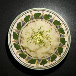 Mashed Celery Root And Potatoes
