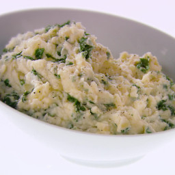 Mashed Potatoes with Kale