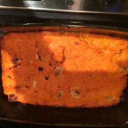 Mashed Sweet Potato Bake
