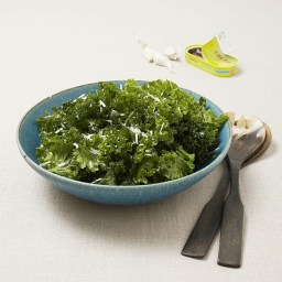 Massaged Mustard Greens Salad