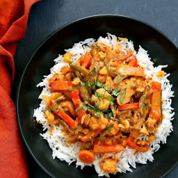 Massaman Curry Vegetables