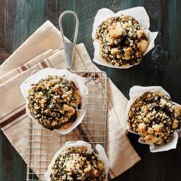 Matcha Almond Muffins