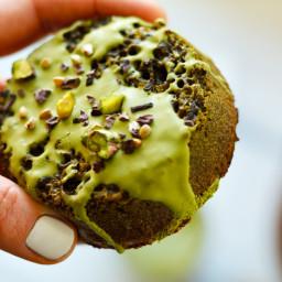 Matcha Crumpets (Paleo/Gluten-Free)