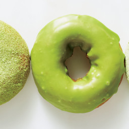 Matcha Doughnuts