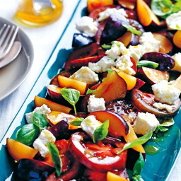 Matt Preston's tomato and plum salad