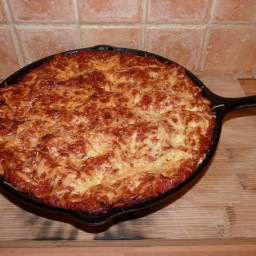 Matt's Cast Iron Vegetable Lasagne