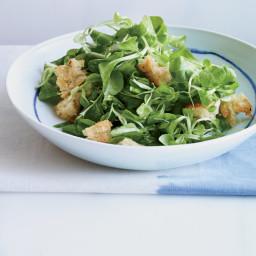 Mâche Salad with Curry Vinaigrette