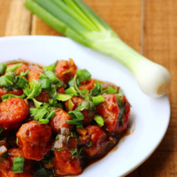 Meal maker Manchurian - how to prepare soya chunks Manchuria