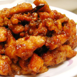 Mean Guy's General Tso's Chicken
