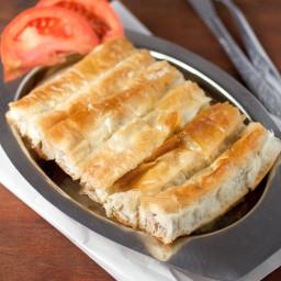 Meat and Potato Phyllo Pie