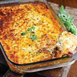 Meat Lasagna (No Noodles)