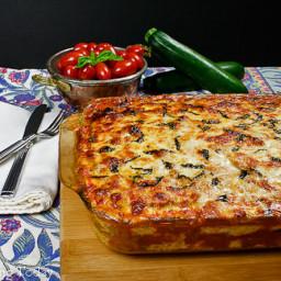 Meat Lover's Zucchini Lasagna