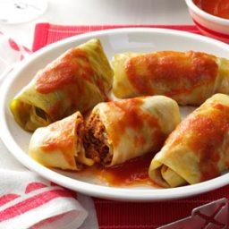 Meatball Cabbage Rolls Recipe