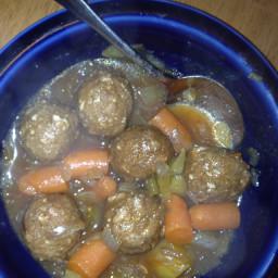 Meatball Stew - Crockpot