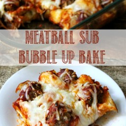 Meatball Sub Bubble Up Bake