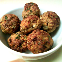 Meatballs - Baked