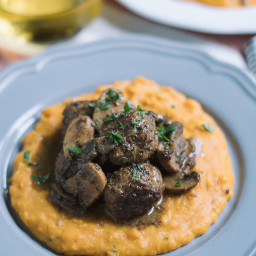 Meatballs With Mushroom Gravy Recipe