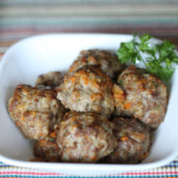 Meatballs with Sneaky Veggies {Freezer Meal}