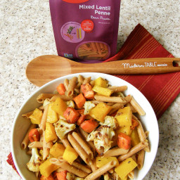 Meatless Monday: Penne Pasta with Roasted Vegetables