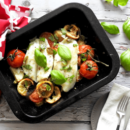 Mediterranean Baked Cod Recipe
