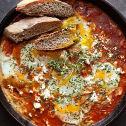 Mediterranean Baked Eggs